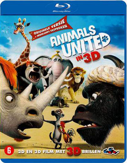 animal%252520united Animals United (2011) [3D] [BDrip 1080p] [Dual Español Ingles + Subs]