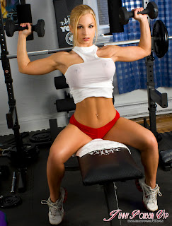 Jenny Poussin workout