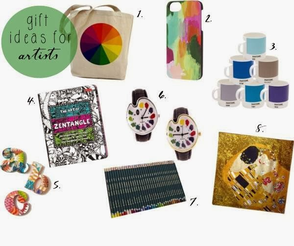 Ciara McGuire: 2013 Christmas Gift Guide: Gifts Ideas for Artists