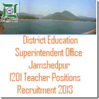 District Education Superintendent Office Recruitment 2013-2014