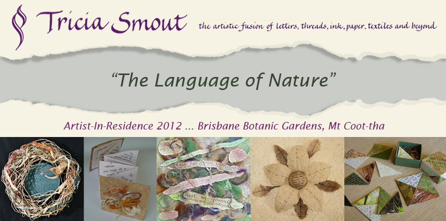 Artist-in-Residence ... Mt Coot-tha Botanic Gardens