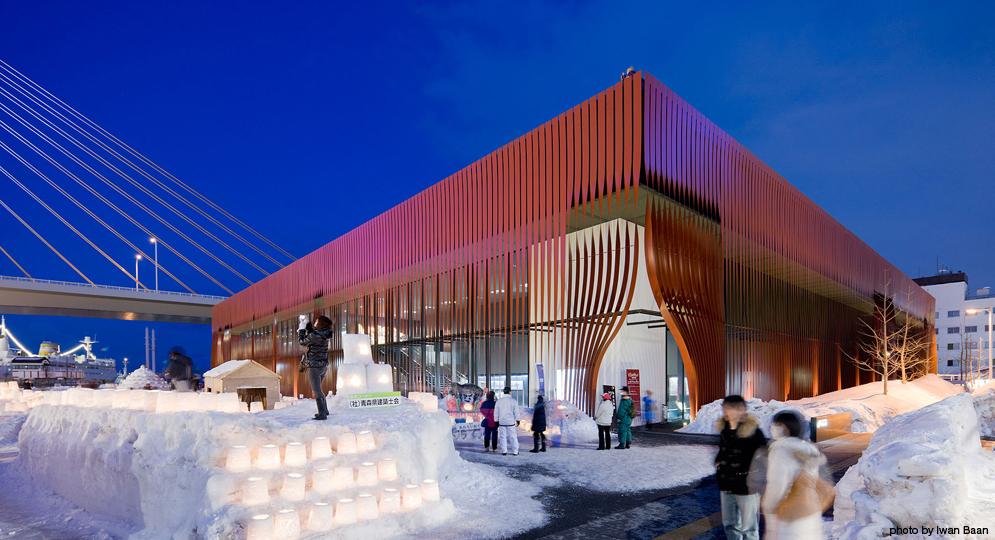design ideas museum design nebuta house aomori japan molo
