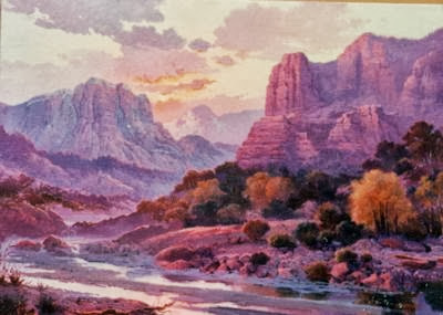 "#0016 ""Evening in Red Rock Country"" 20"" x 24"""