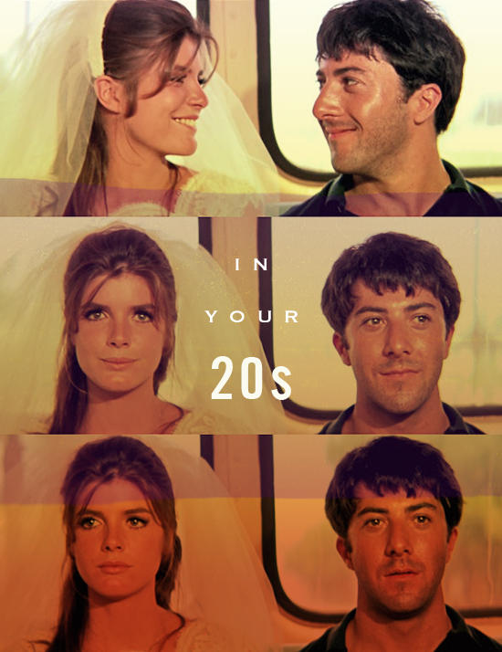 "from the movie ""The Graduate"""