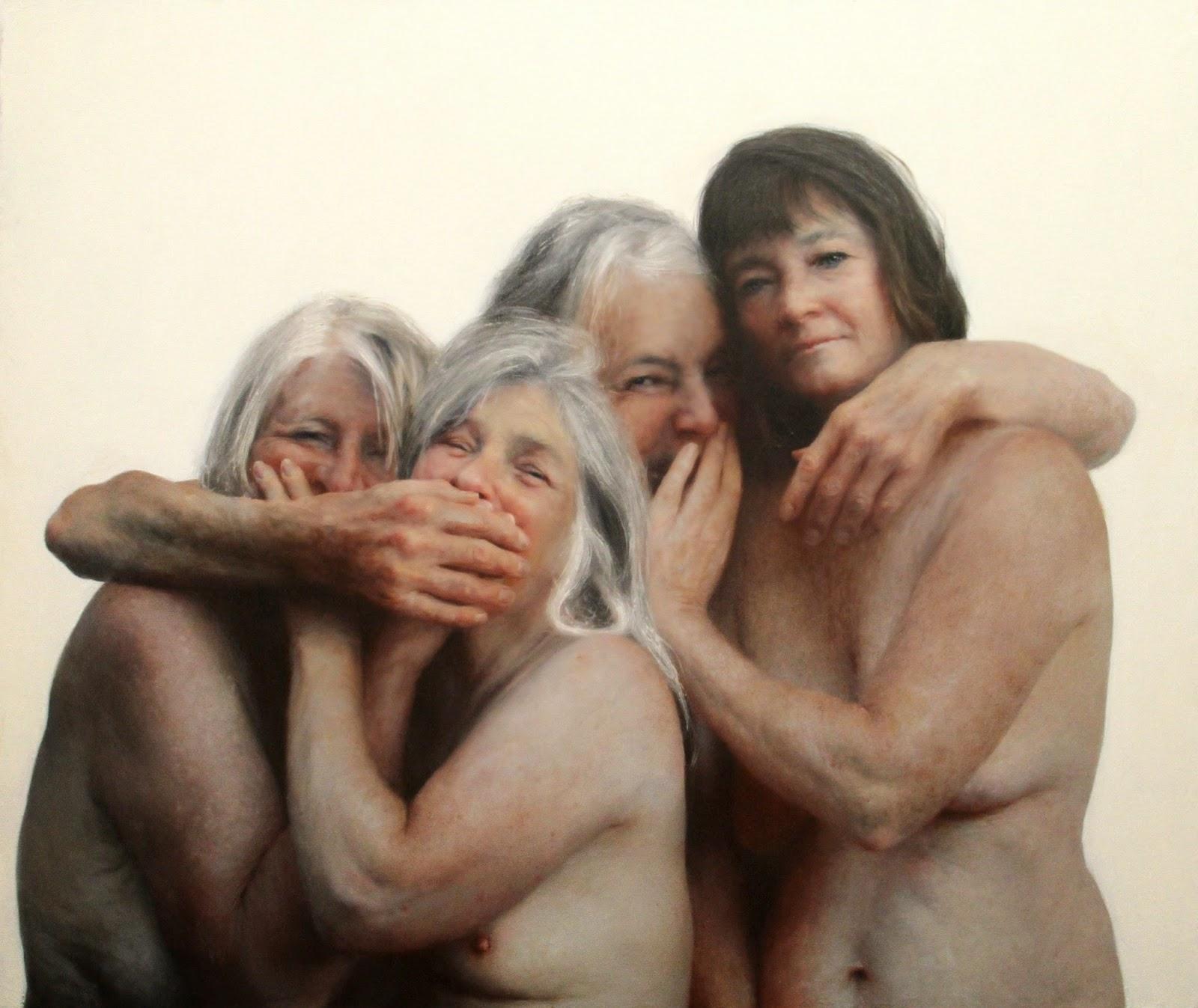 Mujeres de mediana edad desnudas