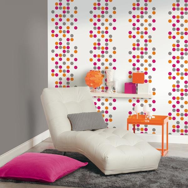 Papel pintado papel pintado caselio for Papel pintado para paredes 3d