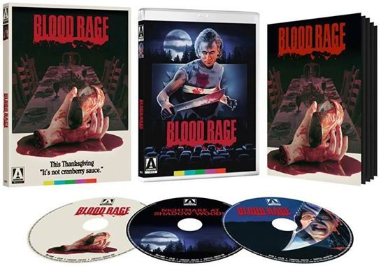 Blood Rage Blu-ray cover