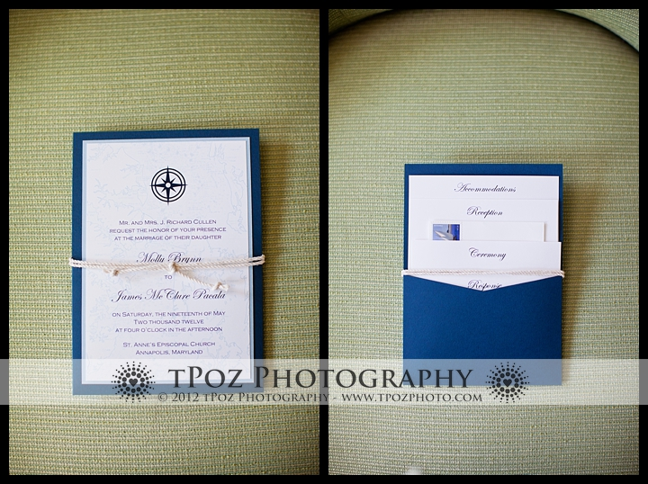 Allison Barnhill Designs Wedding Invitation