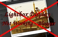 [Solved] Lightbox Display, Not Working - Blogger