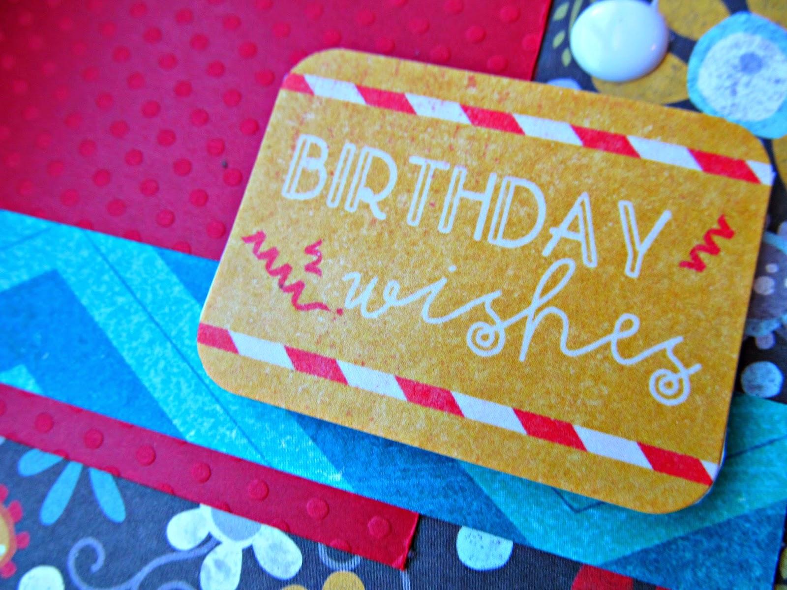 Bright Birthday Wishes #FMS151