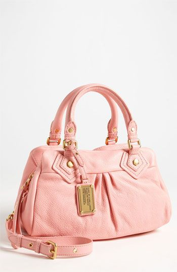 Beautiful Pink Leather Satchel