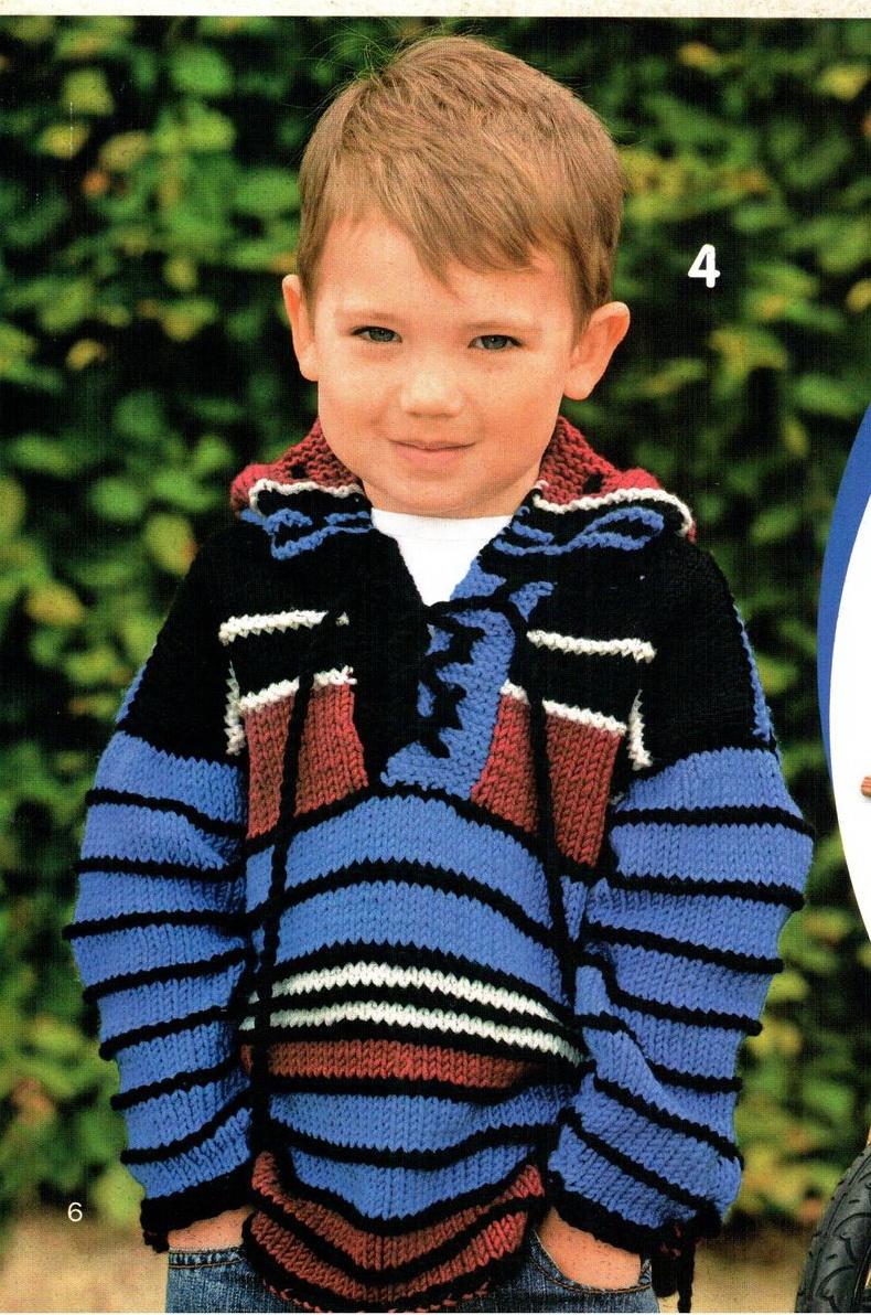 Вязание жакет для мальчика 5 лет 125
