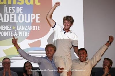 Fred Denis, vainqueur de la Mini Transat 2015 !