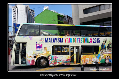 KL Hop On Hop Off Bus, Bus Tingkat Wisata, Double Decker bus, kuala lumpur, malaysia, backpacker malaysia