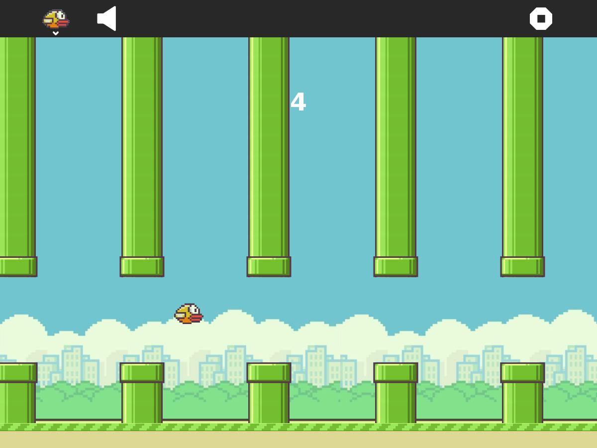 how to make flappy bird app inventor