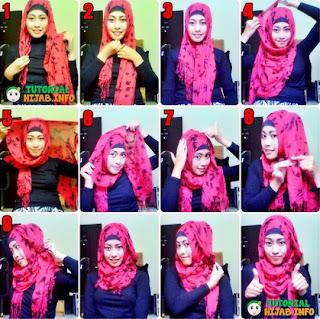 Tata Cara Hijab Modern untuk Lebaran