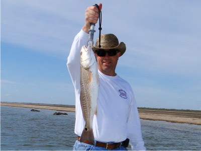 Dave Alexander's 23 1/2 inch redfish