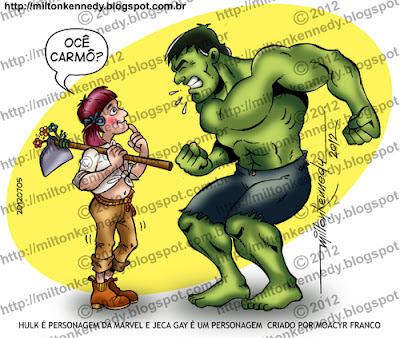 Jeca Gay e Hulk