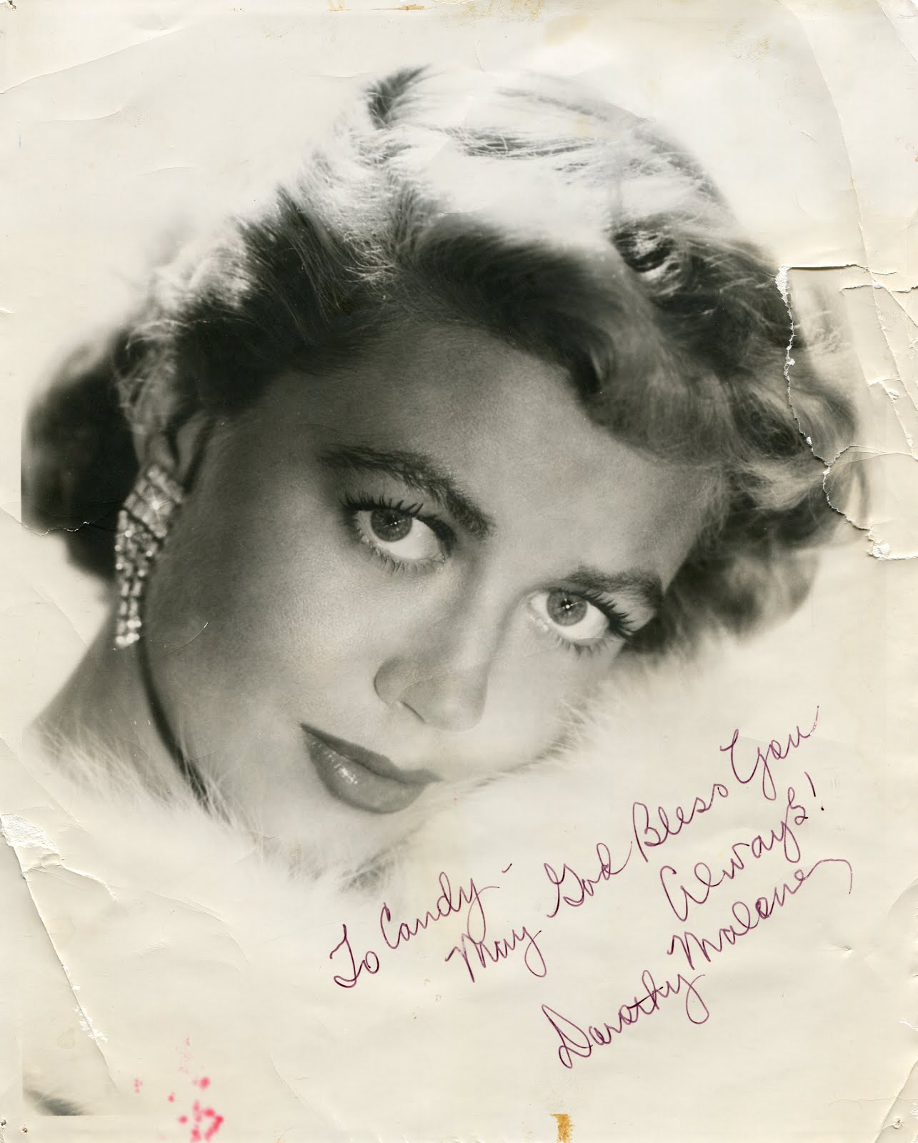 From fred amp ethel s house happy birthday dorothy malone 1925