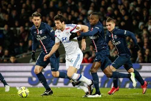 Lyon vs. Paris Saint Germain 1-1 Highlight Goal France Ligue 1 8-02-2015