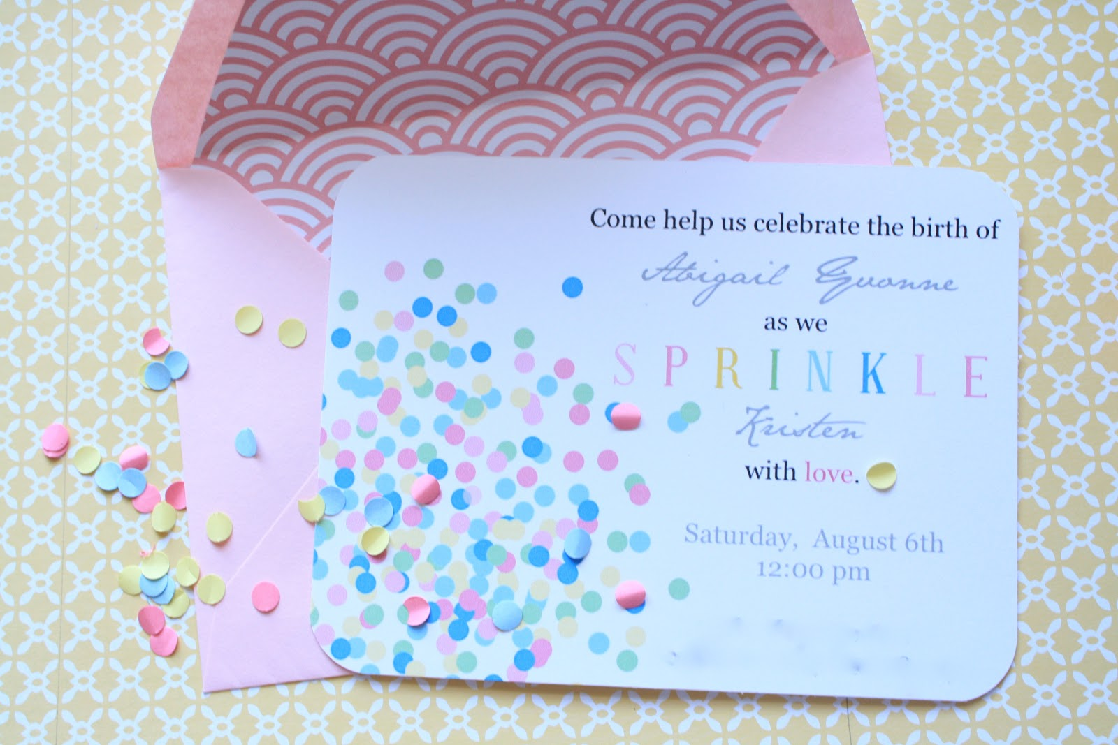 baby shower sprinkle