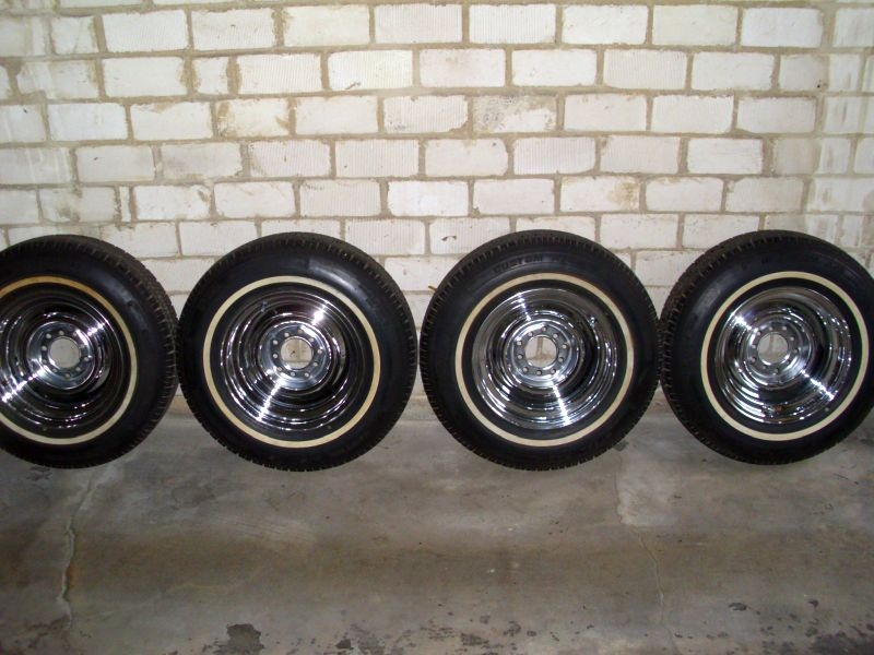 Working Class Kustoms Chrome Reverse Steelies 15 Quot For Sale