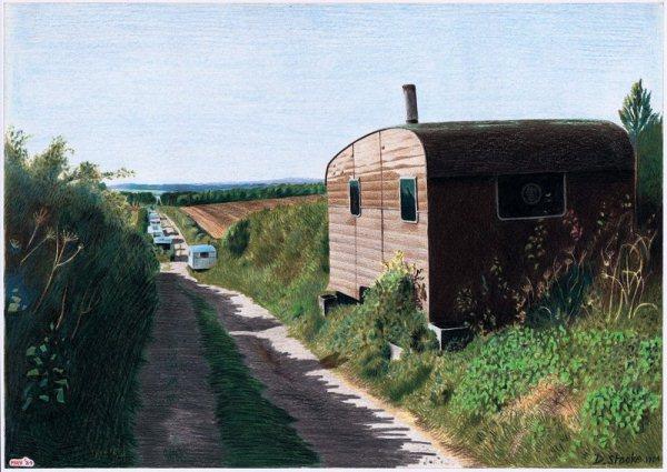 david artwork painting