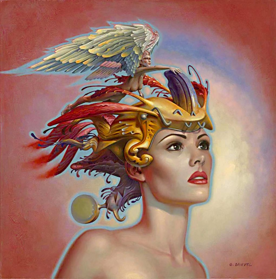 Gil Bruvel 1959 | Australian-born French Visionary painter