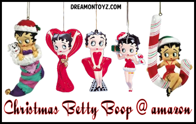 Christmas Betty Boop at amazon