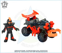 Imaginext Spider & Vehicle unreleased new 2016 Robin 4wd cycle DC comics Batman