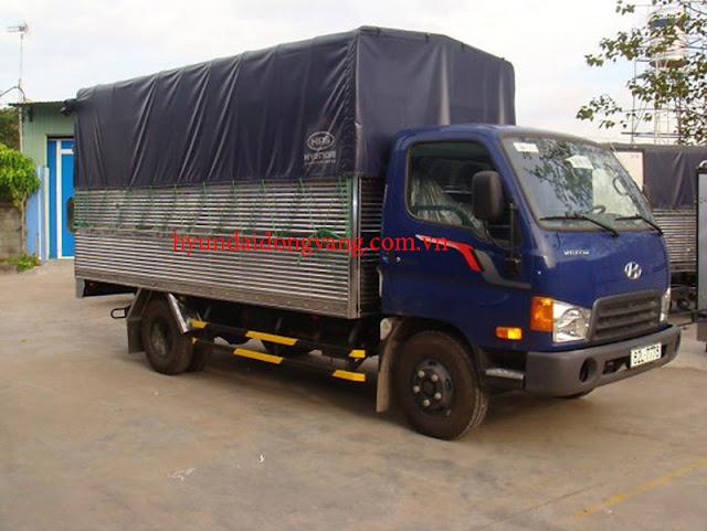 xe tải hyundai hd65 thùng bạt