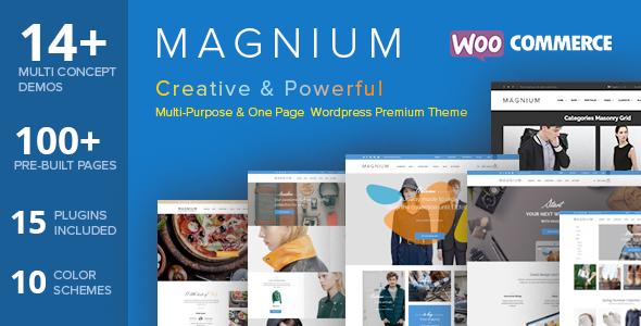 Magnium - Multi-Purpose WooCommerce Theme