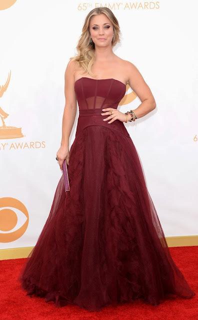 vestidos bonitos Emmy 2013