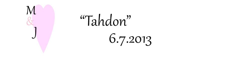 """""""Tahdon"""" 6.7.2013"""