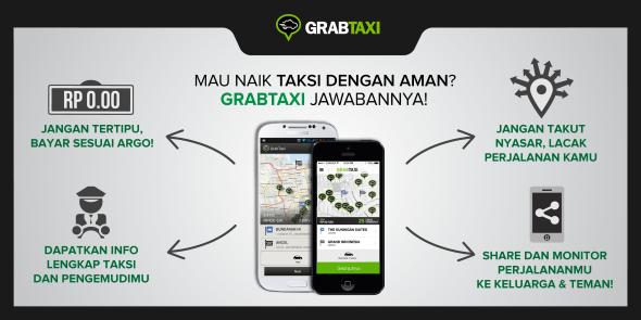 GrabTaxi Taxi Booking Cepat dan Aman