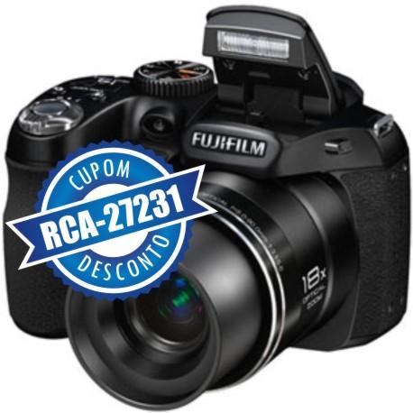 Cupom Efácil - Câmera Digital Fuji S2980 14MP Zoom 18x