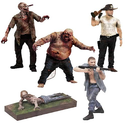 Walking Dead Set Action Figure
