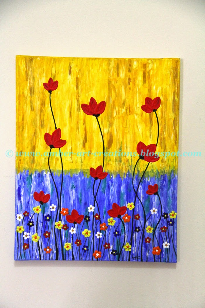 Amber-art-creations, arts, crafts and DIY projects: wall art