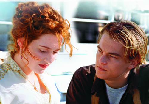 kate winslet in titanic movie. anniversary of the Titanic