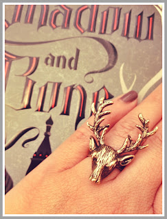 shadow and bone stag ring