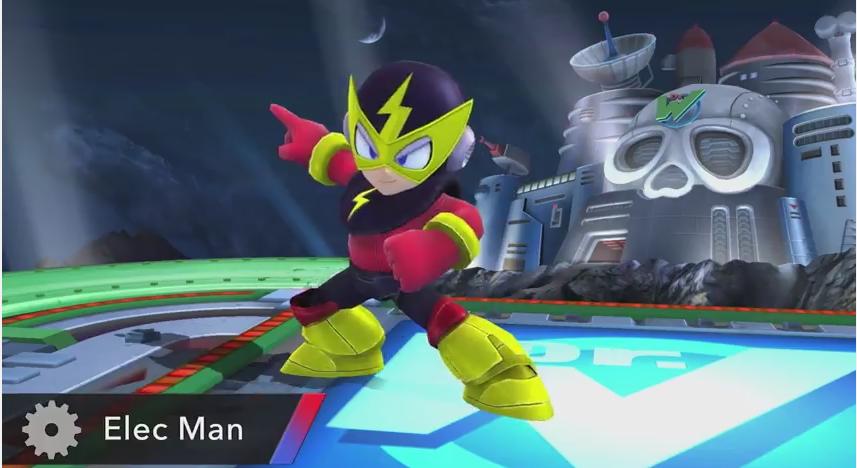 [Discussão] Super Smash Bros. for Wii U/3DS Elecman