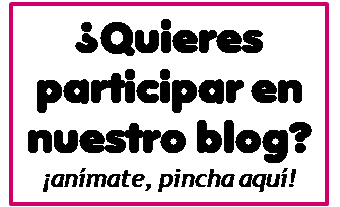 Participa en nuestro blog
