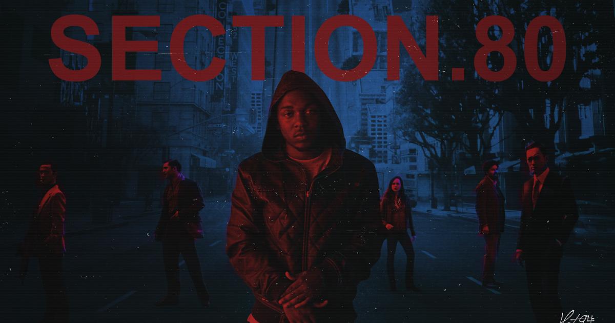 hat-94: Kendrick Lamar - Section.80 - 1600x900