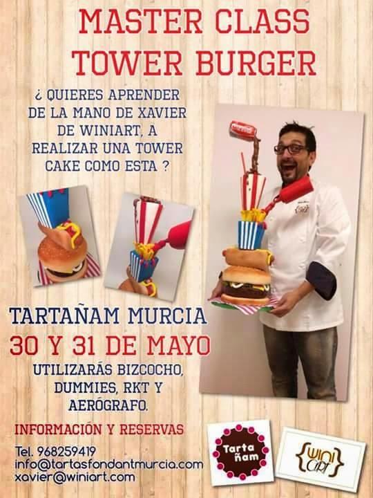 Master Class de Tower Burger con TartaÑam
