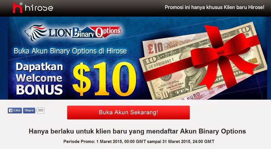 Binary option tanpa deposit