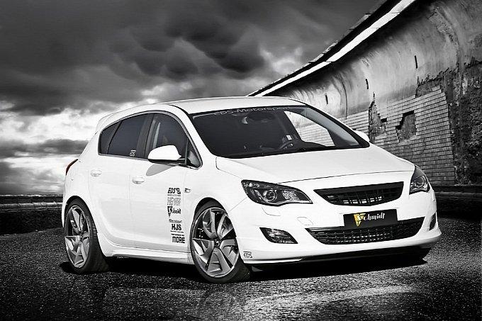 Opel Astra J Turbo Tuning EDS Studio