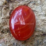 Batu Permata Agate Calcedhony Motif  - SP621
