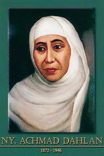 gambar-foto pahlawan nasional indonesia, Nyai Ahmad Dahlan