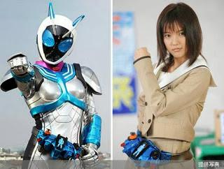 Foto Erina Mano, pemeran Kamen Rider Nadhesiko
