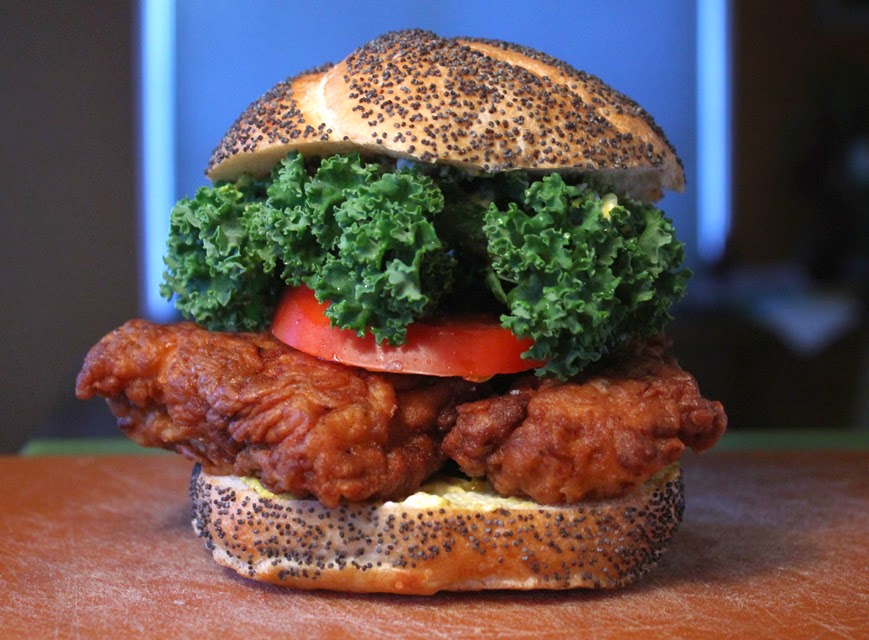 The 99 cent chef fried chicken sandwich video recipe well i throw my whisk into the mix with the 99 cent chefs fried chicken sandwich recipe video forumfinder Gallery